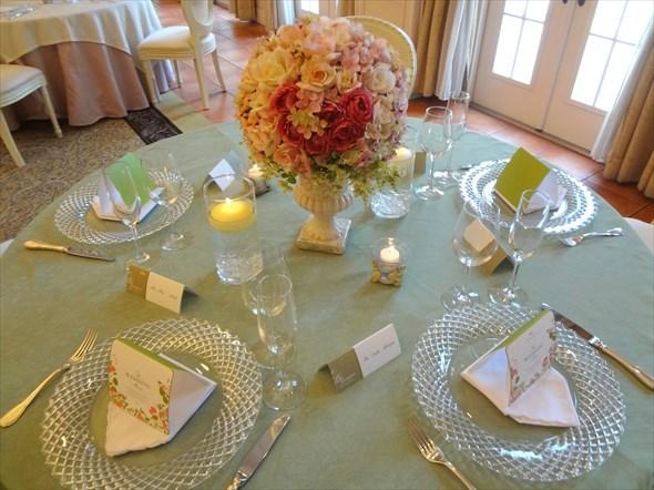 バーフォードマナー テーブル