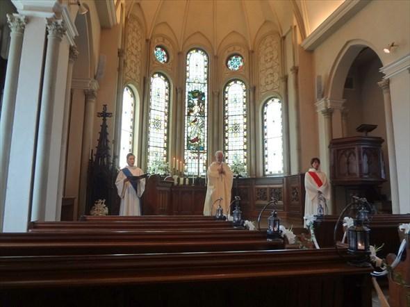 ハートフィールド 教会 模擬挙式