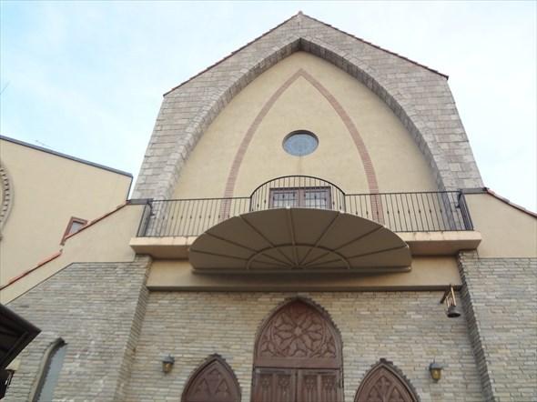 ベルジュール教会 外の写真