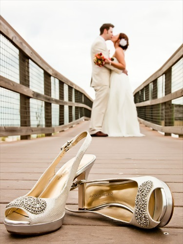 靴 ウェディング 写真