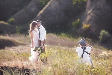結婚式とカメラマン