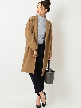 ブライダルフェア 服装 コート パンツスタイル 女性