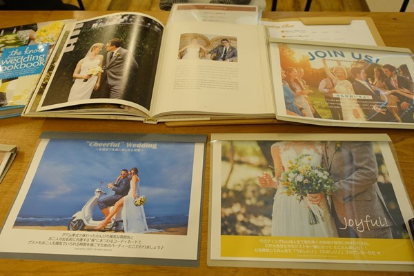 gensen wedding カウンセリング