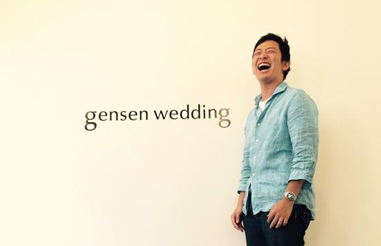 gensen weddingを運営している株式会社リクシィの安藤社長