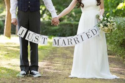 素敵な結婚式を!