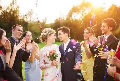 家族が喜んでくれた 結婚式